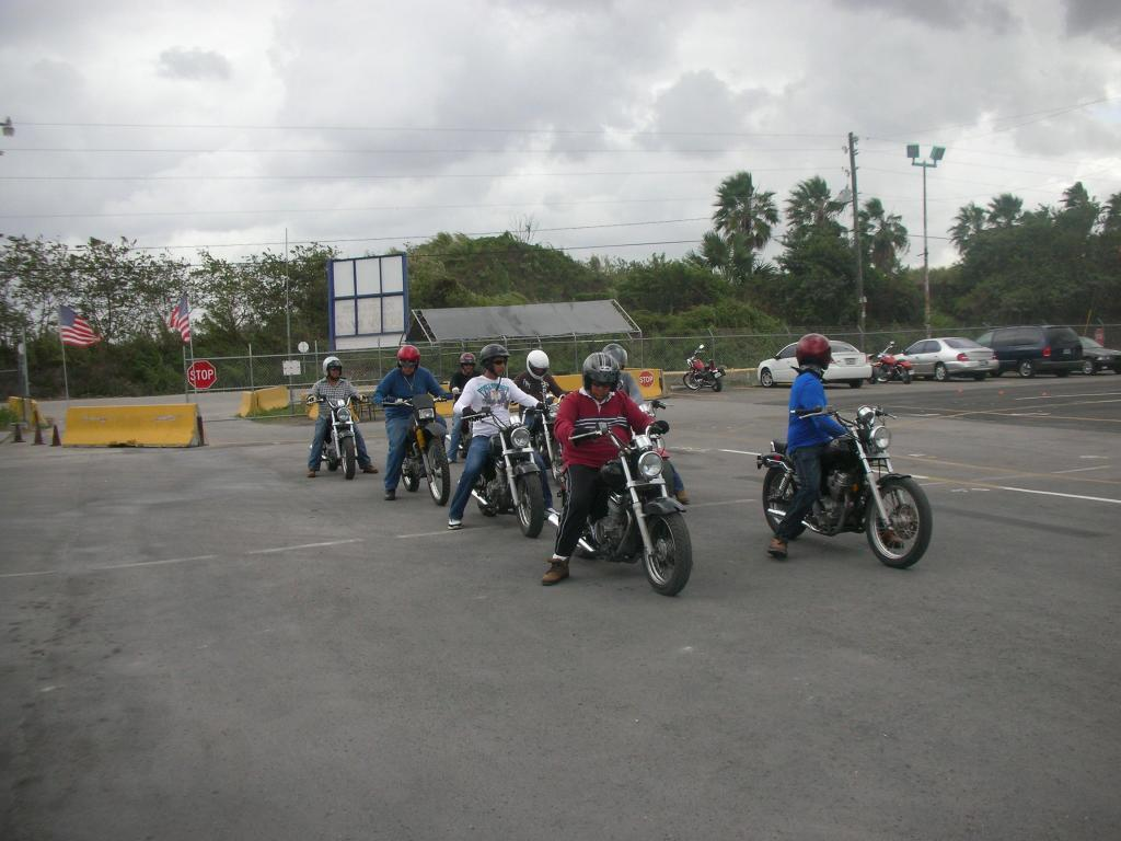38 Motorcycle Driving Test Course Section 12 Basic