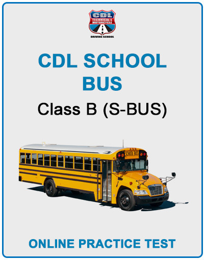 CDL SCHOOL BUS CLASS B