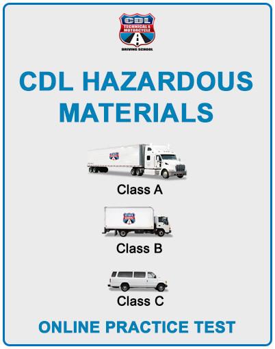 CDL Hazaedous Materials