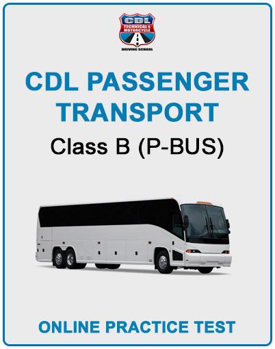 CDL Passenger Transport
