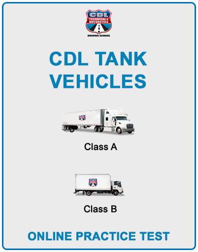 CDL Tank Vehicles Online Practice Test