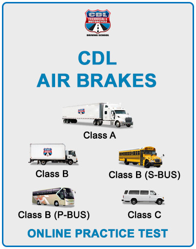 Cdl Air Brakes Online Practice Test Cdl Technical